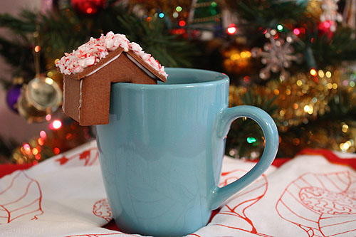 gingerbread coffee house