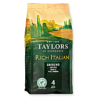 Taylors of Harrogate Rich Italian Ground Coffee 6 x 227g bag