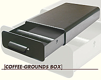 Coffee Grounds Knockout Box
