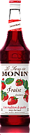 Monin Strawberry Flavoured Coffee Syrup 1ltr