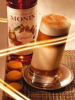 Monin Caramel Flavoured Coffee Syrup 70cl