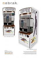 Branded Coffee Tower