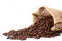 Caff� Ricco 100% Arabica. A medium light roast, a blend of Brazils & Costa Rican beans from the Community Coffee Farms. A mild well balanced flavour with a rounded taste with a hint of caramel 1kg bag