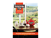 Yorkshire Tea A3 Poster