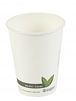 12 oz Biodegradable Hot Cup per 1000