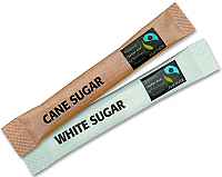 Fairtrade White Sugar Sticks 3g per 1000
