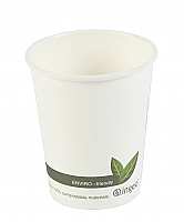 8 oz Biodegradable Hot Cup per 1000