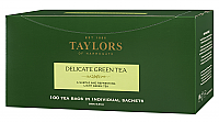 Delicate Green Tea Tea Bags box of 100