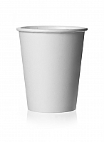 12oz Plain White Hot Drink Paper Cup per 1000